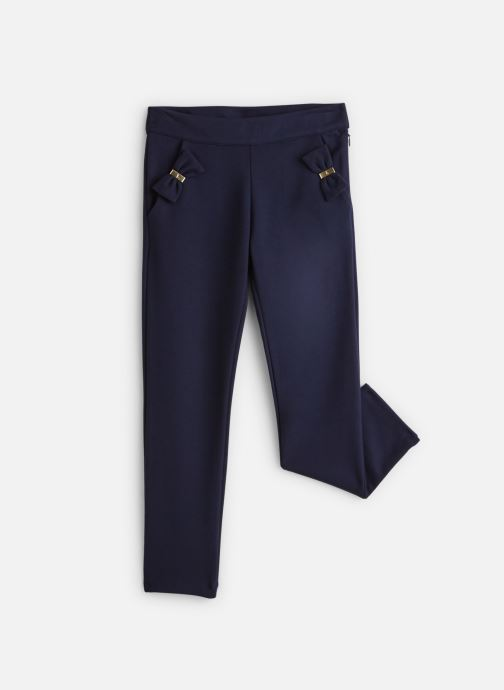 Pantalon Milano Bleu Marine à noeuds