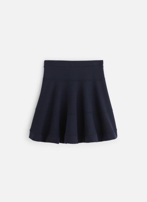 Vêtements Lili Gaufrette Jupe Milano Bleu Marine fluide Bleu vue bas / vue portée sac