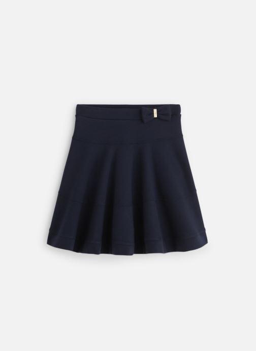 Vêtements Lili Gaufrette Jupe Milano Bleu Marine fluide Bleu vue détail/paire