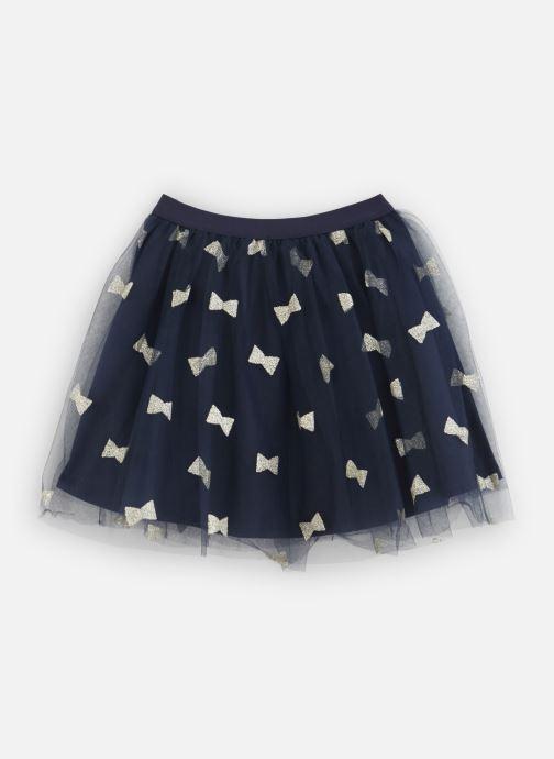 Vêtements Lili Gaufrette Jupe Plisée en tulle noir et noeufs à paillettes Bleu vue bas / vue portée sac