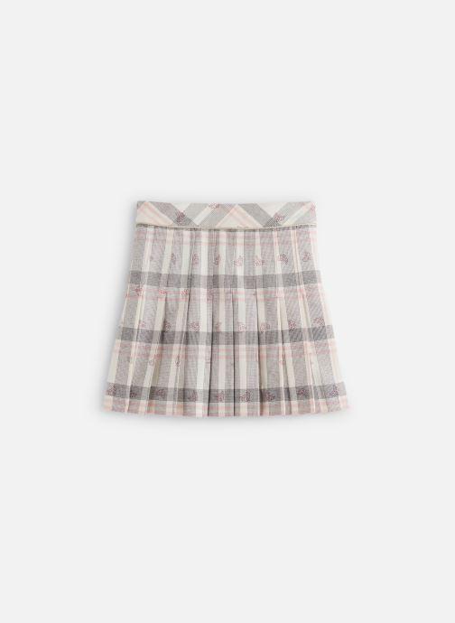 Vêtements Lili Gaufrette Jupe GP27112 Blanc vue bas / vue portée sac
