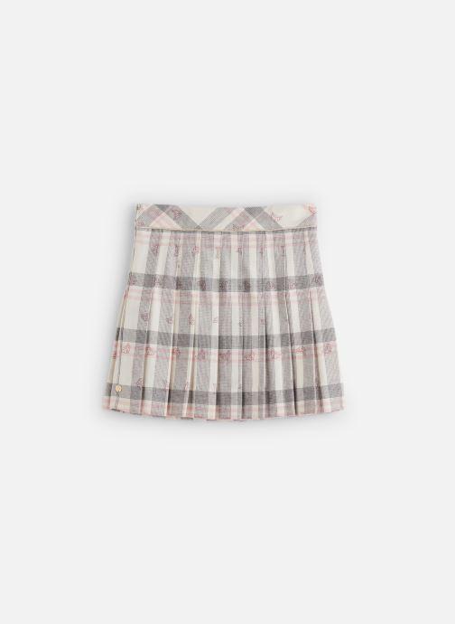 Vêtements Lili Gaufrette Jupe GP27112 Blanc vue détail/paire