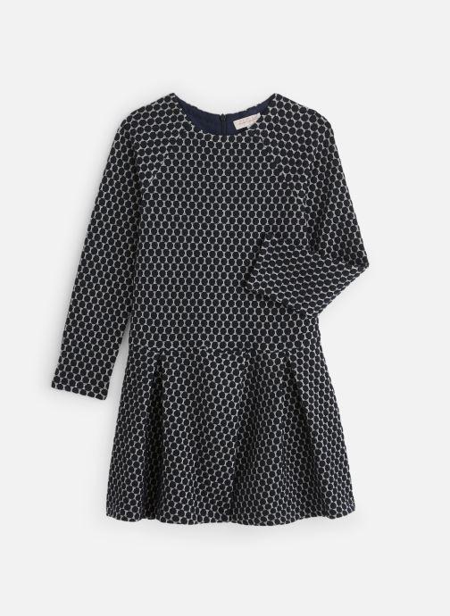 Vêtements Lili Gaufrette Robe GP30102 Bleu vue détail/paire
