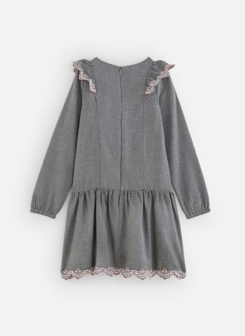 Vêtements Lili Gaufrette Robe en flanelle girs anthracite Gris vue bas / vue portée sac