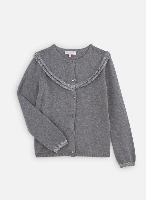 Vêtements Lili Gaufrette Cardigan GP18092 Gris vue détail/paire