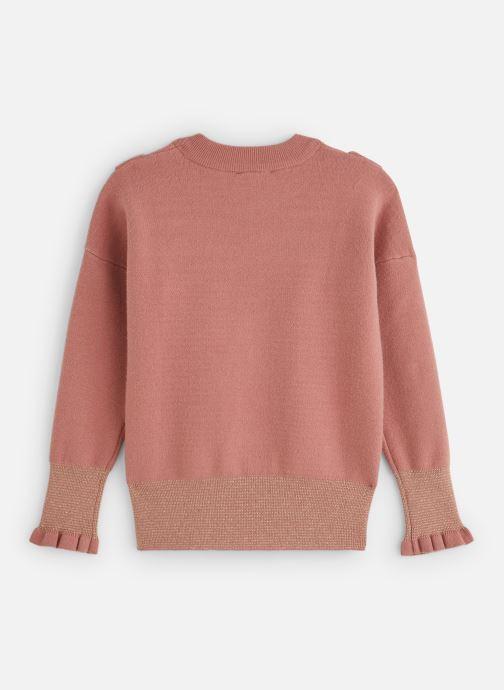 Vêtements Lili Gaufrette Pull GP18012 Rose vue bas / vue portée sac