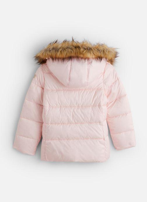 Vêtements Lili Gaufrette Doudoune GP42042 Rose vue bas / vue portée sac