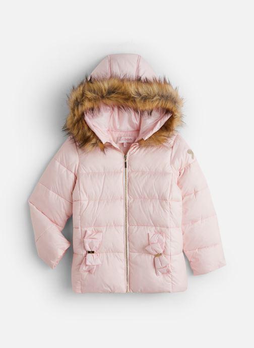 Vêtements Lili Gaufrette Doudoune GP42042 Rose vue détail/paire