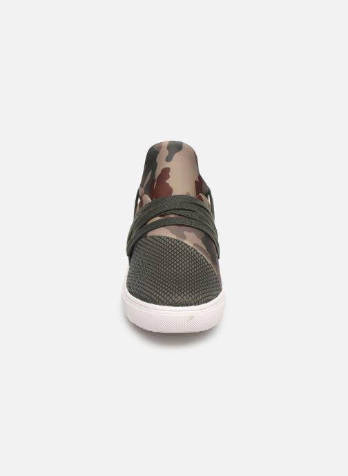 Baskets Steve Madden Lancer Sneaker Vert vue portées chaussures
