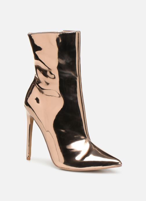 Bottines et boots Steve Madden Wagner Ankle Boot Or et bronze vue détail/paire