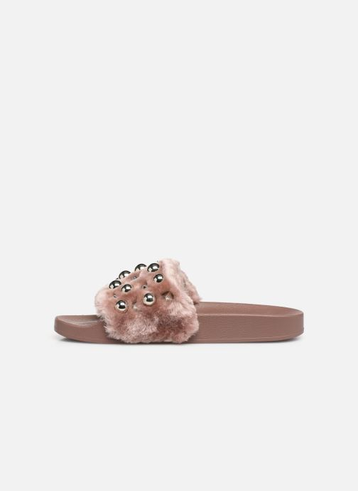 Mules & clogs Steve Madden Yeah Slide Pink front view