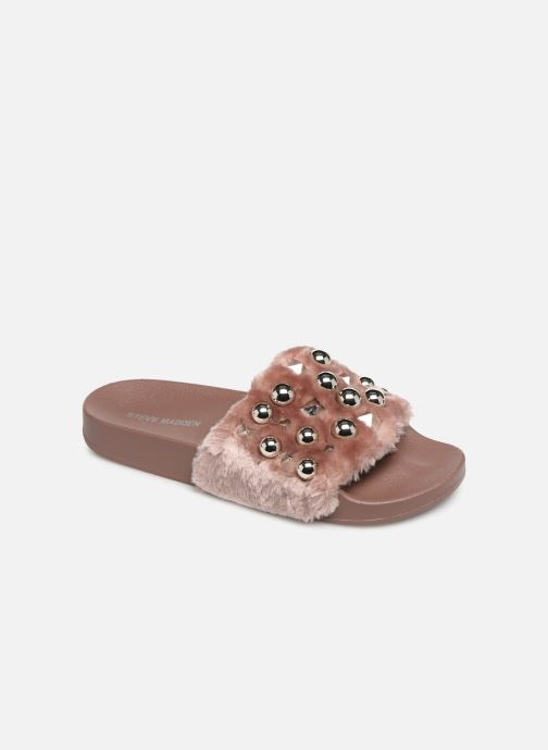 Mules & clogs Steve Madden Yeah Slide Pink detailed view/ Pair view