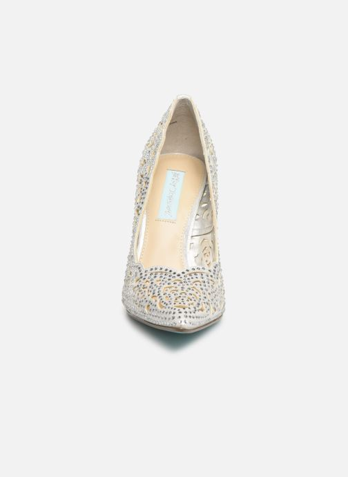 Escarpins Steve Madden Elsa Heel Argent vue portées chaussures