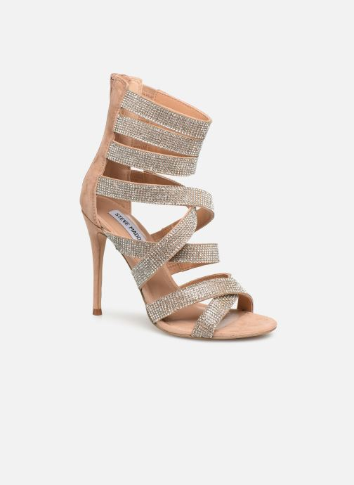 Sandals Steve Madden Malika Sandal Beige detailed view/ Pair view