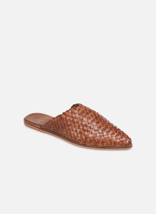Clogs og træsko ST.AGNI Caio Brun detaljeret billede af skoene