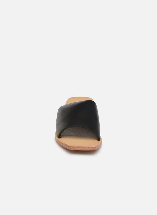 Mules et sabots ST.AGNI Zanita Noir vue portées chaussures