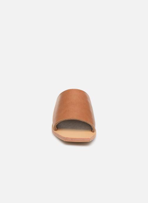 Mules et sabots ST.AGNI Zanita Marron vue portées chaussures