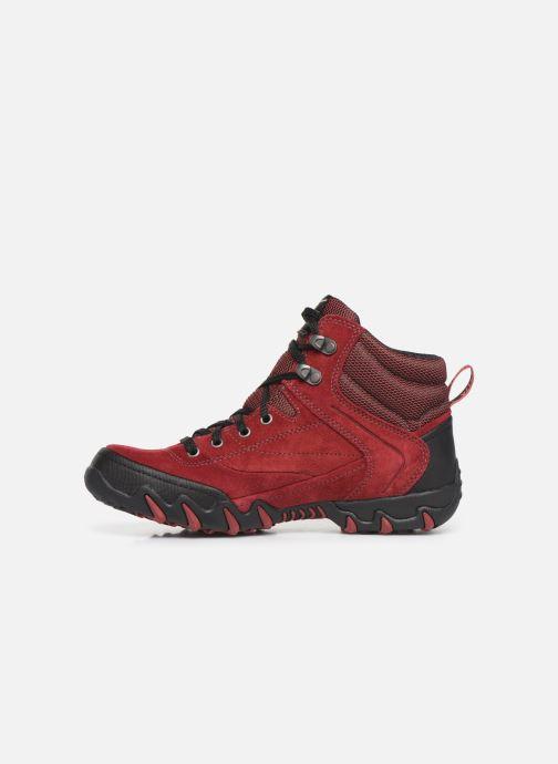Chaussures de sport ALLROUNDER Nigata-Tex Rouge vue face