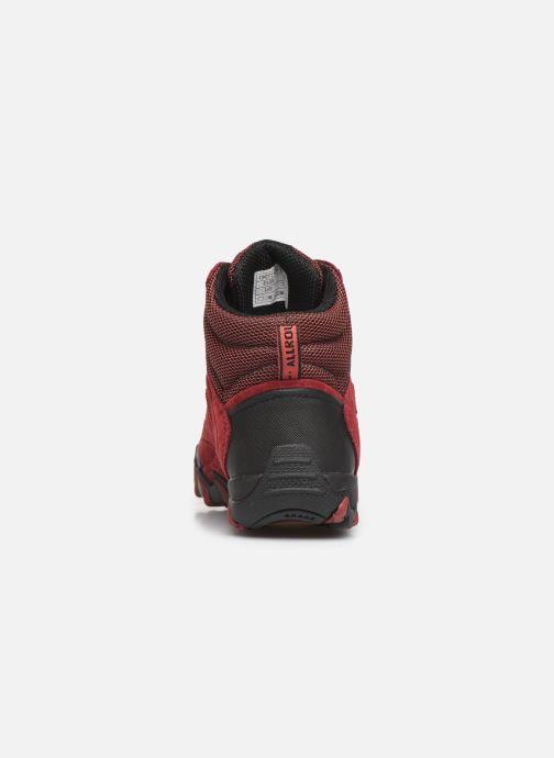 Chaussures de sport ALLROUNDER Nigata-Tex Rouge vue droite