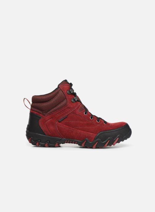 Chaussures de sport ALLROUNDER Nigata-Tex Rouge vue derrière