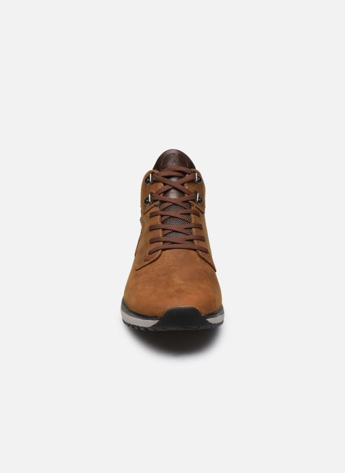 Baskets ALLROUNDER Eldorado-Tex Marron vue portées chaussures
