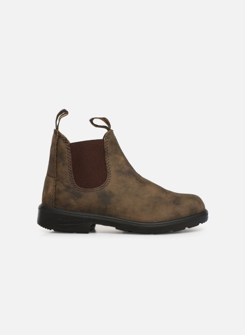 Botines  Blundstone Kids Chelsea Boots Marrón vistra trasera