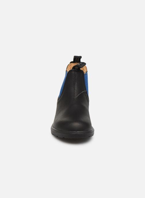 Stivaletti e tronchetti Blundstone Kids Chelsea Boots Nero modello indossato