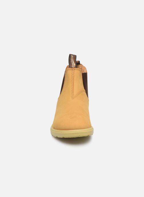 Bottines et boots Blundstone Kids Chelsea Boots Jaune vue portées chaussures