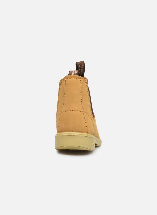 Bottines et boots Blundstone Kids Chelsea Boots Jaune vue droite