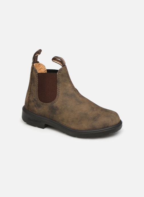 Bottines et boots Blundstone Kids Chelsea Boots Marron vue détail/paire