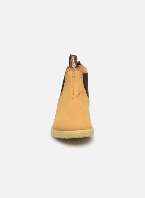 Botines  Blundstone Kids Chelsea Boots Beige vista del modelo