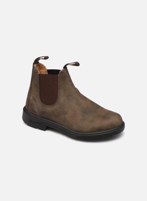 Boots en enkellaarsjes Blundstone Kids Chelsea Boots Bruin detail