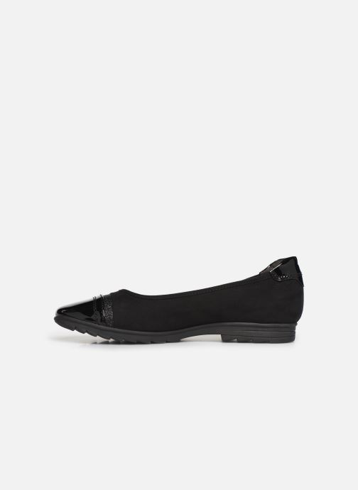 Ballerines Jana shoes MENA NEW Noir vue face