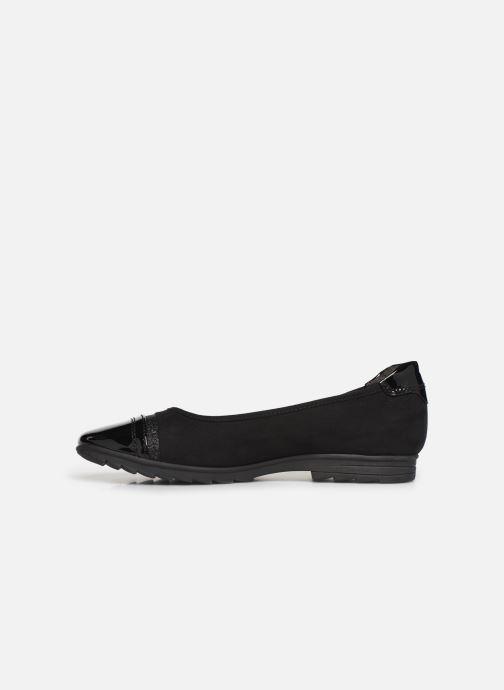 Ballerinas Jana shoes MENA NEW schwarz ansicht von vorne