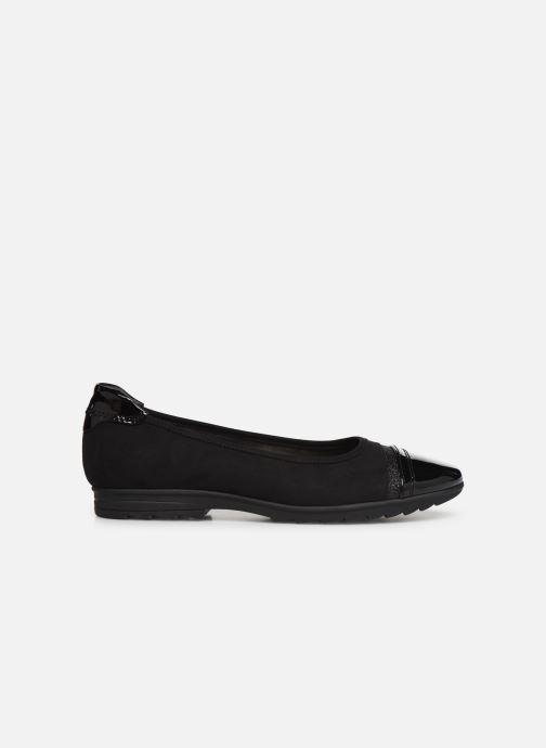 Ballerinas Jana shoes MENA NEW schwarz ansicht von hinten