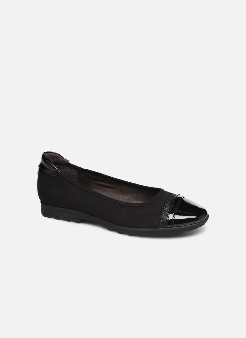 Ballerines Jana shoes MENA NEW Noir vue détail/paire