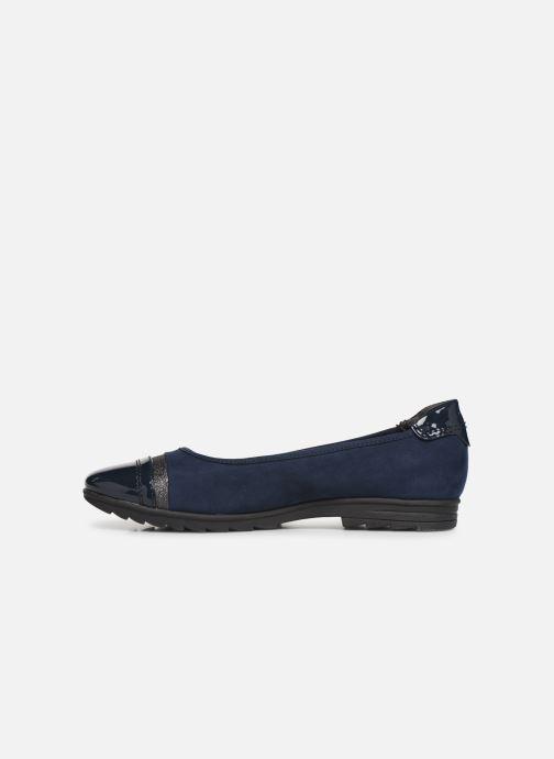 Ballerina's Jana shoes MENA NEW Blauw voorkant