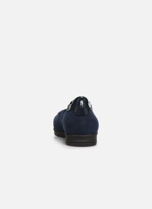Ballerines Jana shoes MENA NEW Bleu vue droite