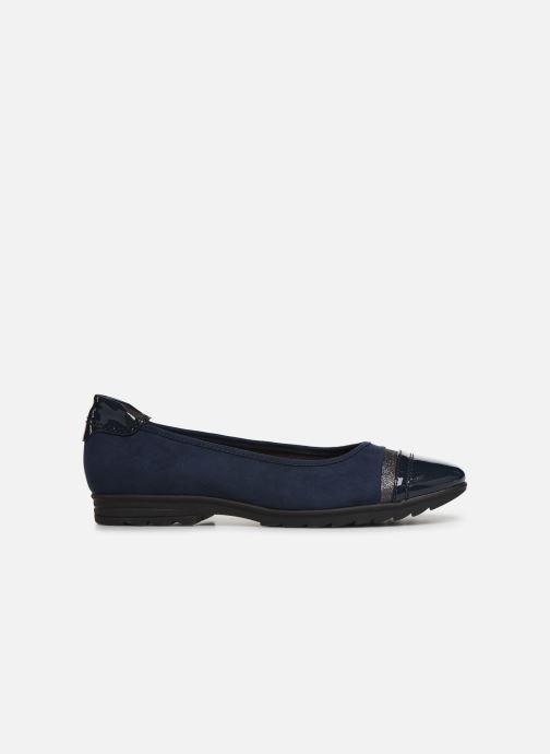 Ballerina's Jana shoes MENA NEW Blauw achterkant