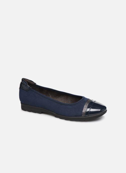 Ballerines Jana shoes MENA NEW Bleu vue détail/paire