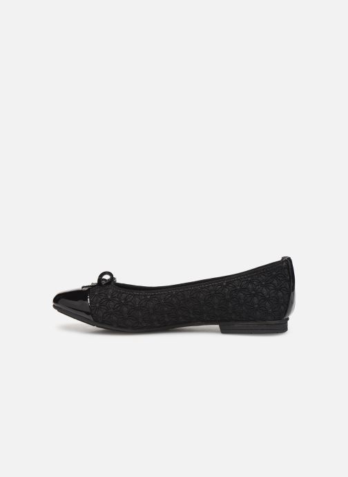 Ballerina's Jana shoes PANAMA NEW Zwart voorkant