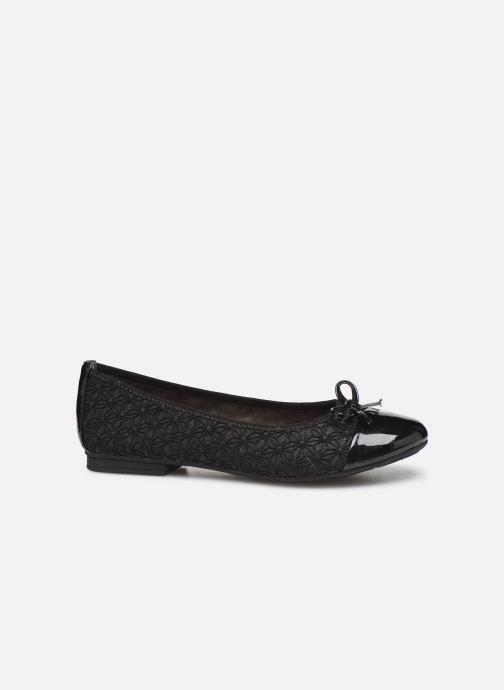 Ballerines Jana shoes PANAMA NEW Noir vue derrière