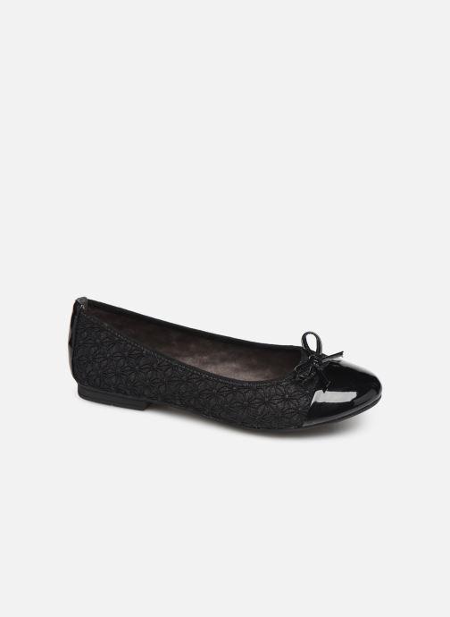 Ballerina's Jana shoes PANAMA NEW Zwart detail