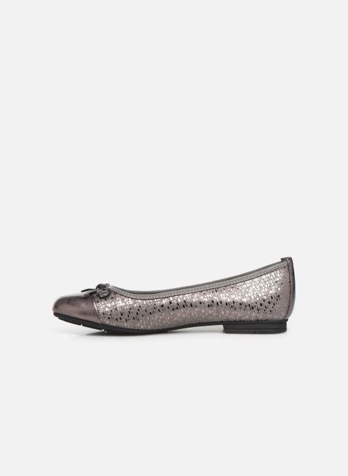 Ballerines Jana shoes PANAMA NEW Argent vue face