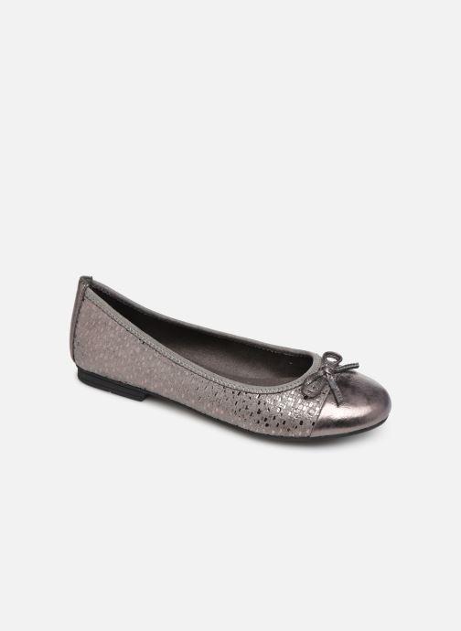 Ballerines Jana shoes PANAMA NEW Argent vue détail/paire