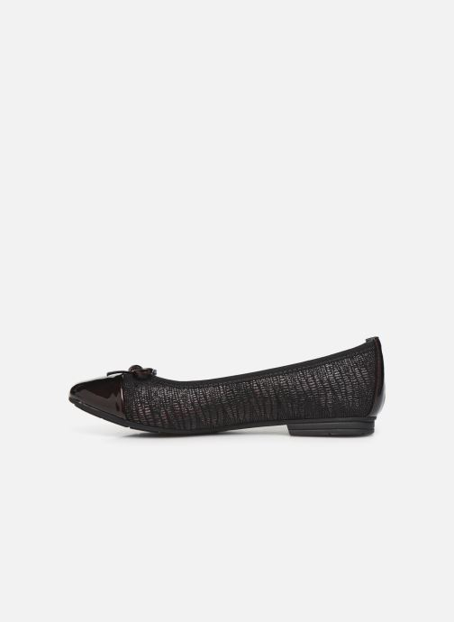 Ballerina's Jana shoes PANAMA NEW Bordeaux voorkant