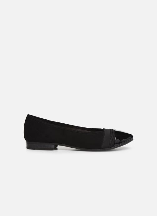 Ballet pumps Jana shoes CAMILLE NEW Black back view