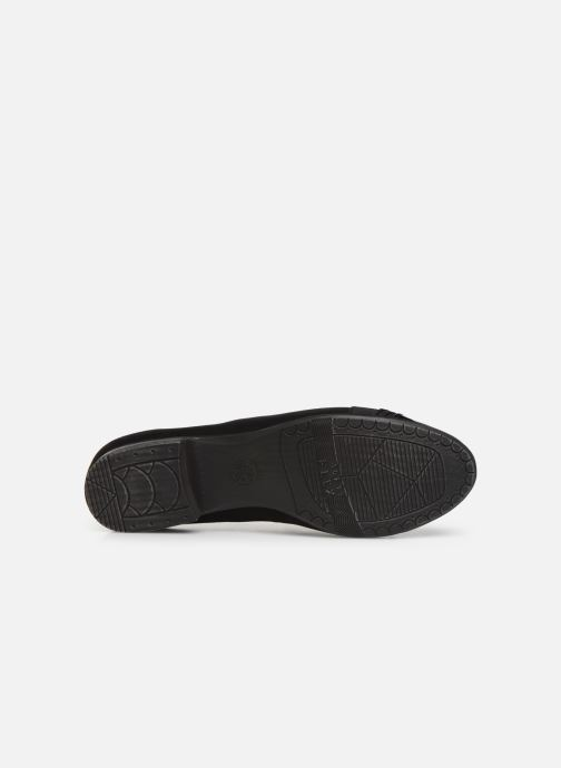Ballerines Jana shoes CAMILLE NEW Noir vue haut