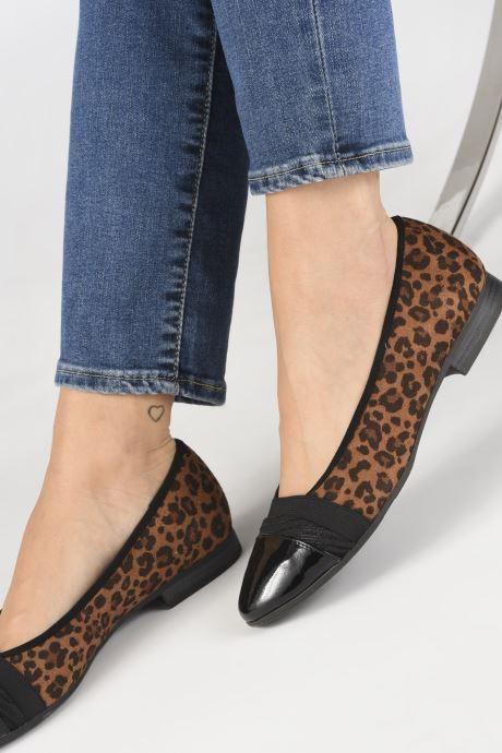 Ballerina's Jana shoes CAMILLE NEW Bruin onder
