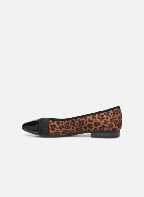 Ballerina's Jana shoes CAMILLE NEW Bruin voorkant